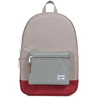 Herschel Settlement Light Khaki Crosshatch/Shadow/Brick Red