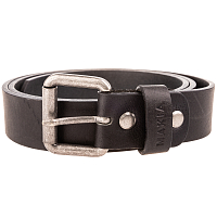 Makia LEATHER BELT BLACK