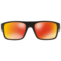 Oakley DROP POINT POLISHED BLACK  /PRIZM RUBY