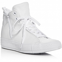 CONVERSE Chuck Taylor All Star Selene Monochrome Leather WHITE/WHITE/WHITE