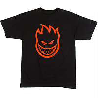 SPITFIRE S/S BIGHEAD BLACK/RED
