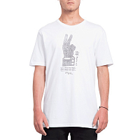 Volcom CANCEL HISTORY BSC S White