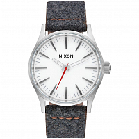 Nixon SENTRY 38 LEATHER Gray/Tan