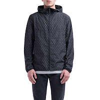 Herschel MEN'S VOYAGE WIND Black Gridlock
