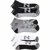 Billabong ANKLE SOCK 3PACKS ASSORTED