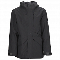 Bonfire VECTOR JACKET SHELL BLACK