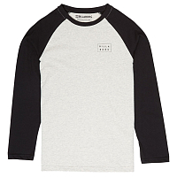 Billabong DIE CUT TEE LS BOY LT GREY HEATHER