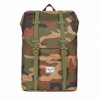 Herschel RETREAT YOUTH WOODLAND CAMO