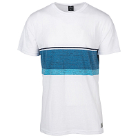 Rip Curl YARN DYED STRIPE MEN SS TEE OPTICAL WHITE