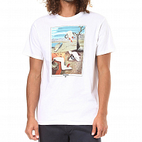 Billabong MELTED TEE SS White