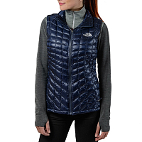 The North Face W THERMOBALL VEST - EU COSMIC BLUE