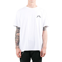 Rusty GOTHIC R SHORT SLEEVE TEE White