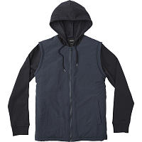 RVCA LOGAN PUFFER JACKET NEW NAVY