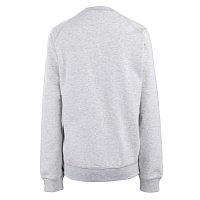 Carhartt W' CHASE SWEATSHIRT ASH HEATHER / GOLD