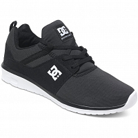 DC HEATHROW M SHOE BLACK/WHITE