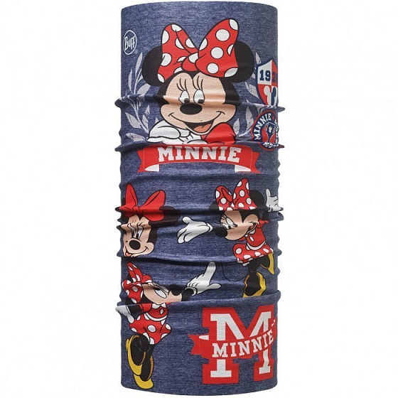 Бандана BUFF LICENSES MINNIE CHILD ORIGINAL FW17 от BUFF в интернет магазине www.traektoria.ru - 1 фото