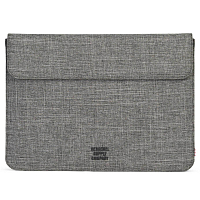 Herschel SPOKANE SLEEVE FOR MACBOOK Raven Crosshatch New