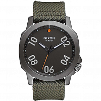 Nixon RANGER 45 NYLON GUNMETAL/SURPLUS