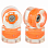 SUNSET SKATEBOARDS CRUISER WHEEL WITH ABEC9 ORANGE