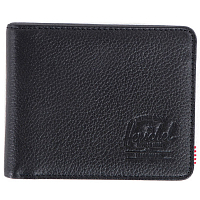 Herschel Hank Black Pebbled Leather