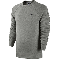 Nike SB ICON CREW FLEECE DK GREY HEATHER/BLACK