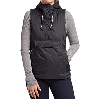 Holden LOVE SIDE ZIP VEST BLACK
