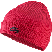 Nike U NK BEANIE FISHERMAN RUSH PINK/BLACK