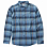 Billabong COASTLINE FLANNEL LS BLUE