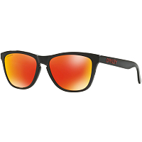 Oakley Frogskins BLACK INK/PRIZM RUBY