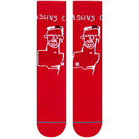 Stance ANTHEM BASQUIAT CASSIUS RED