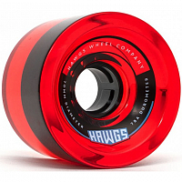 Hawgs 70'S Clear Red