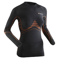 X-Bionic XB Lady En_accumulator UW Turtle Neck BLACK/ORANGE