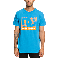 DC ON THE STRENGTH M TEES BRILLIANT BLUE