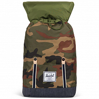 Herschel RETREAT Woodland Camo/Dark Denim