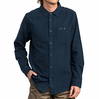 RVCA PUBLIC WORKS LS SEATTLE BLUE