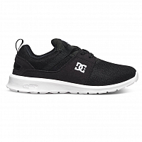 DC HEATHROW B SHOE BLACK/WHITE