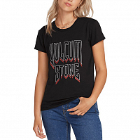 Volcom EASY BABE RAD 2 TEE BLACK