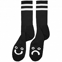 Polar HAPPY SAD SOCKS BLACK