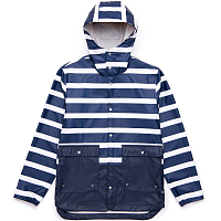 Herschel RAINWEAR PARKA Border Stripe/Peacoat