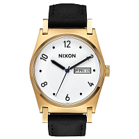 Nixon JANE LEATHER GOLD / BLACK