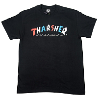 THRASHER KNOCK OFF S/S BLACK