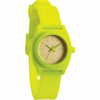 Nixon Small Time Teller P NEON YELLOW/BEETLEPOINT