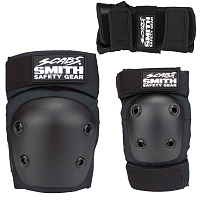Smith Scabs PADS 3 PACK BLACK