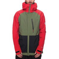 686 MNS GLCR GORE-TEX GT JKT RED COLOR BLOCK