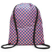 Vans BENCHED BAG BLUE SAPPHIRE-STRAWBERRY PINK CHECKERBOARD