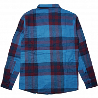 VOL4 JINX FLANNEL BLU/OXBLOOD