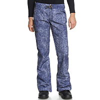 DC VIVA PNT J SNPT DARK BLUE ACID WASH DENIM A