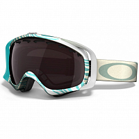 Oakley Crowbar ANIMALISTIC TURQUOISE BLACK ROSE IRIDIUM