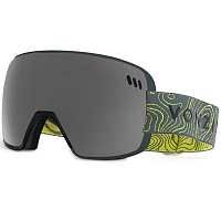 VonZipper ALT XM GREY SATIN / WILD BLACK CHROME