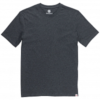 Element BASIC CREW SS CHARCOAL HEATHE